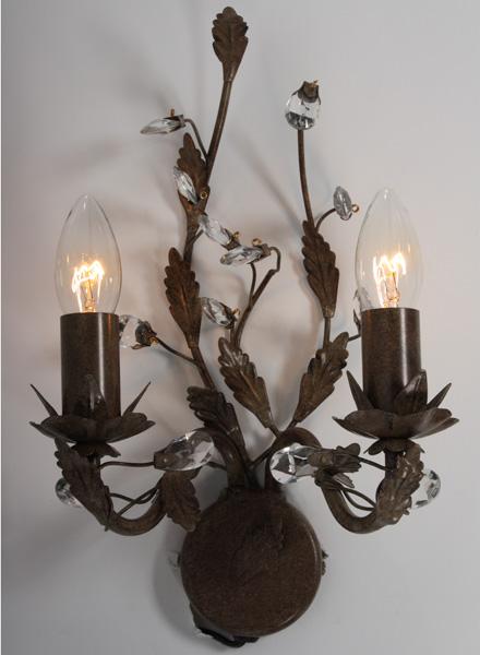 wandlamp rust