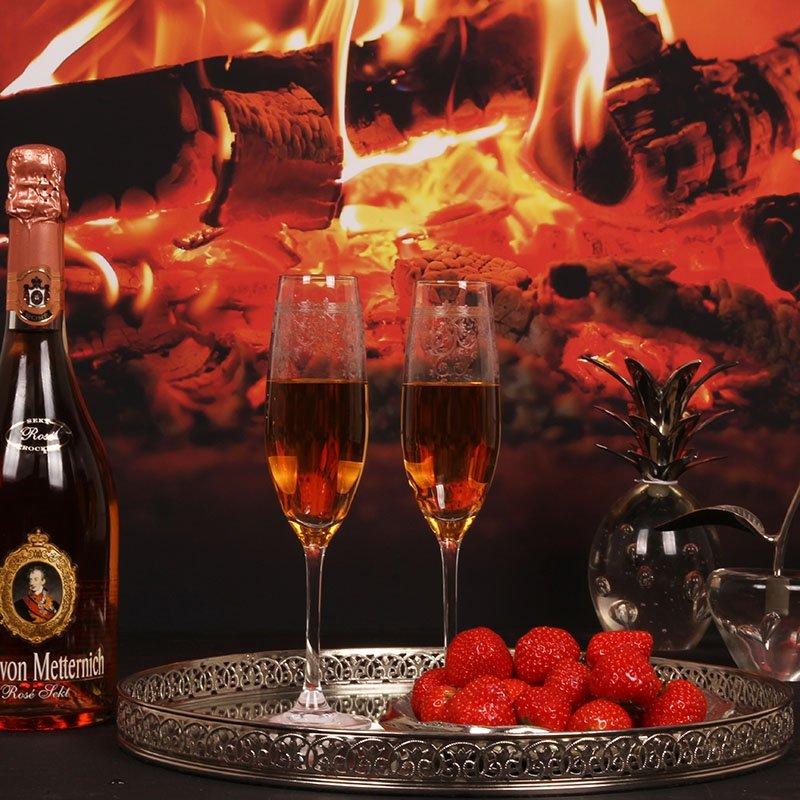 Champagne glas Flute afm: 24 cm-7191