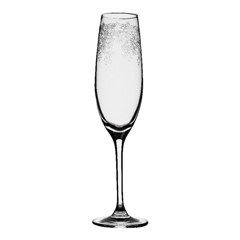 Champagne glas Flute afm: 24 cm-0