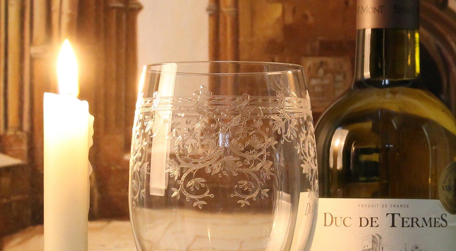 Glas witte wijn afm: 22 cm-7198
