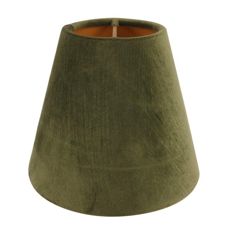 Lampenkap moss green afm:h.11.5 cm Ø13 cm-0