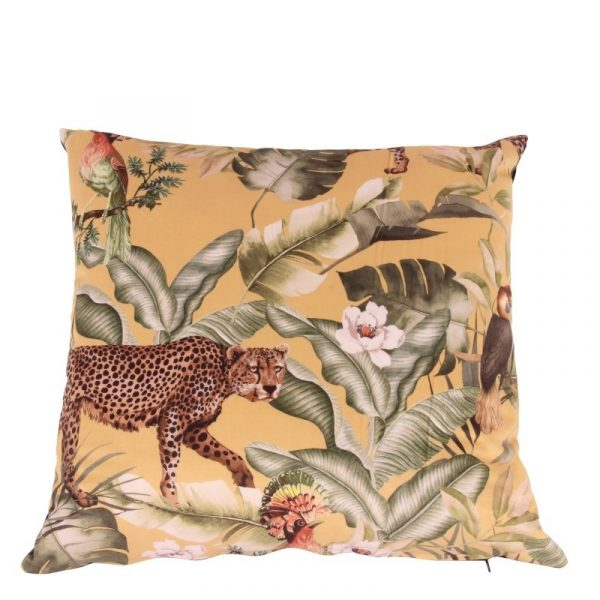 Kussen Luxury jungle print color mixed afm. 50x50cm-0
