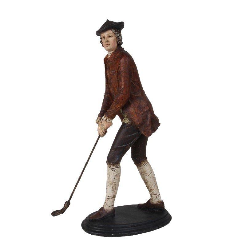 Man golf statue afm. 39 cm-0
