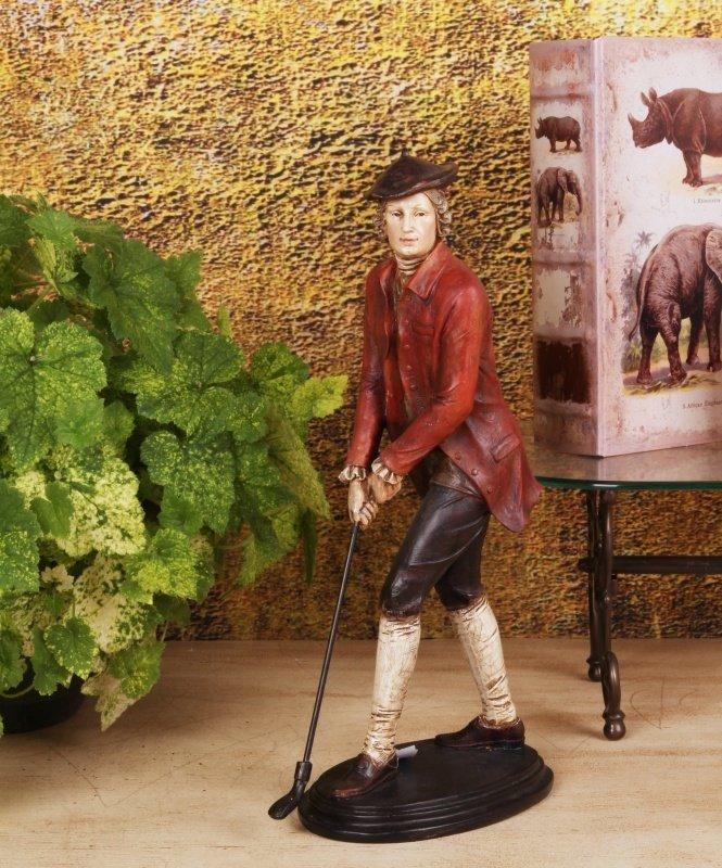 Man golf statue afm. 39 cm-7426