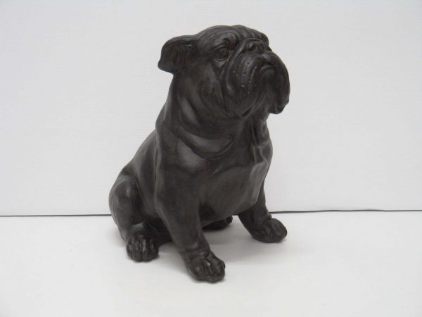 Bulldog grijs afm. 29h cm-0
