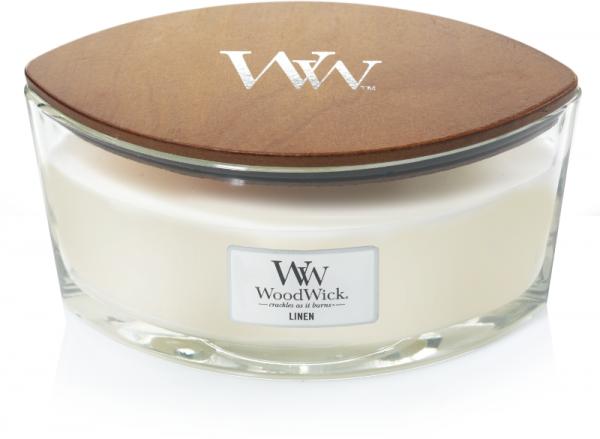Woodwick Ellipse candle Linen-0
