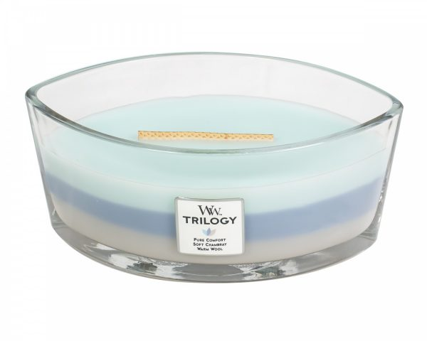 Woodwick Trilogy Woven Comforts Ellipse Candle-0