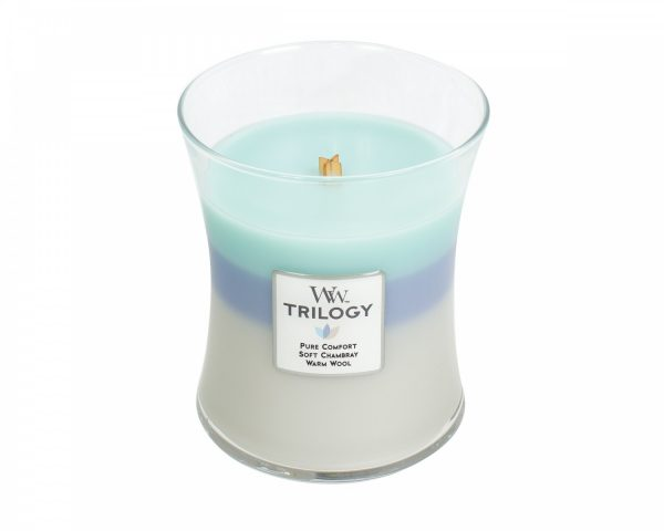 Woodwick Trilogy Woven Comforts Medium Candle-0