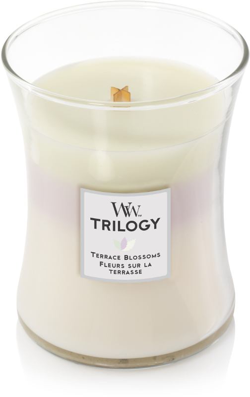 Woodwick Trilogy Terrace Blossoms Medium Candle-0