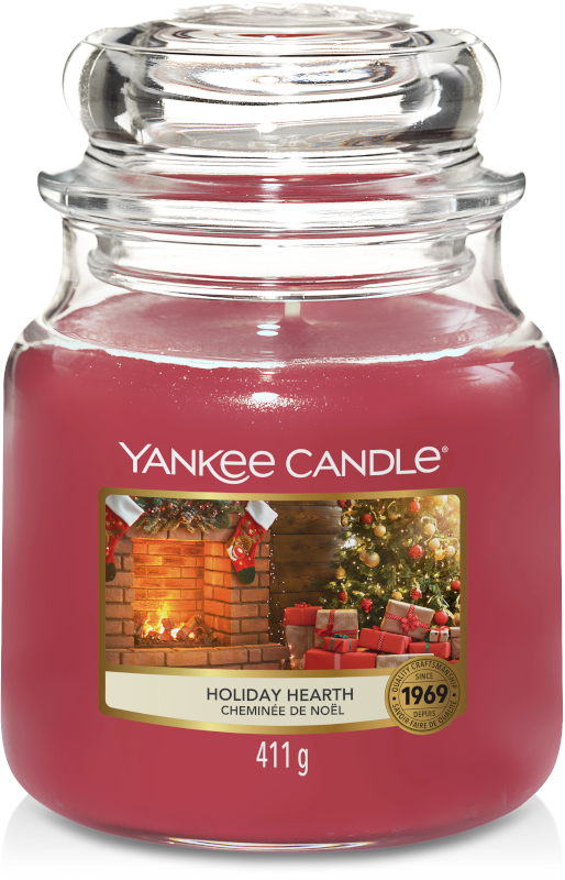 Yankee Candle Holiday Hearth Medium Jar-0