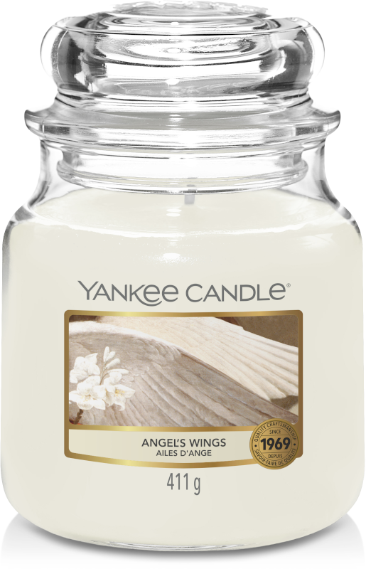 Yankee Candle Angel's Wings Medium Jar-0