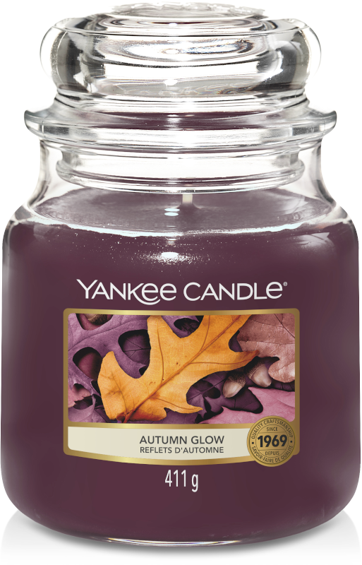 Yankee Candle Autumn Glow Medium Jar-0