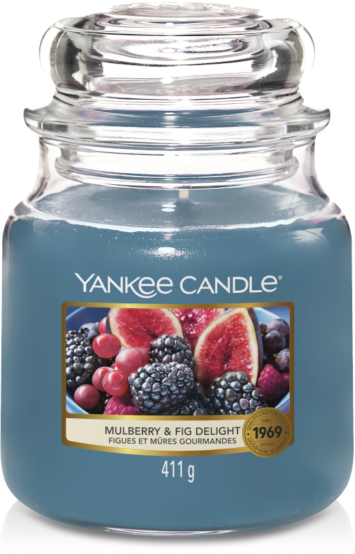 Yankee Candle Mulberry & Fig Delight Medium Jar-0
