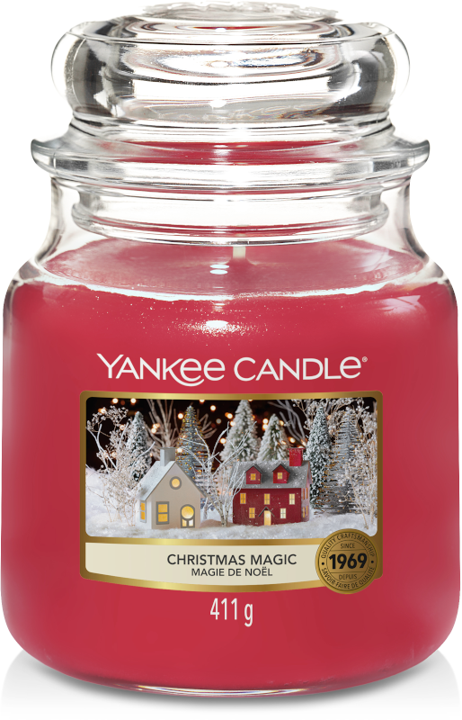 Yankee Candle Christmas Magic Medium Jar-0