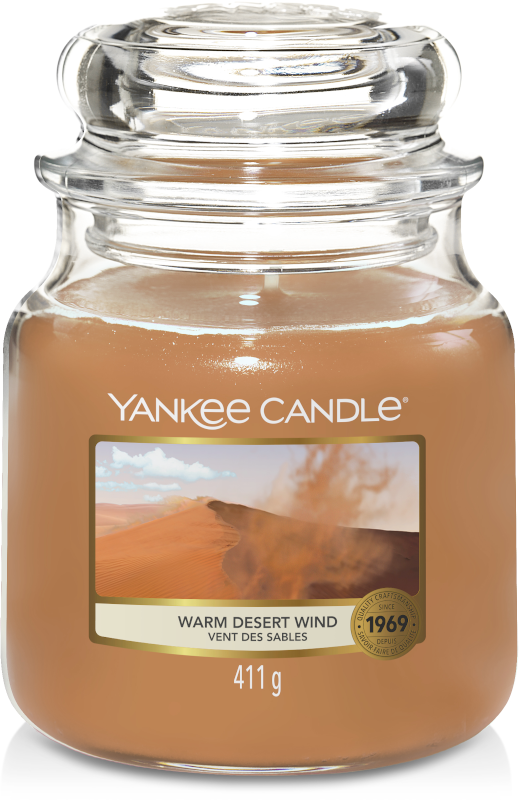 Yankee Candle Desert Wind Medium Jar-0