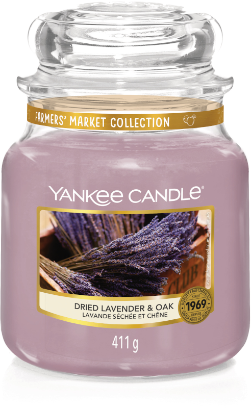 Yankee Candle Dried Lavender & Oak Medium Jar-0