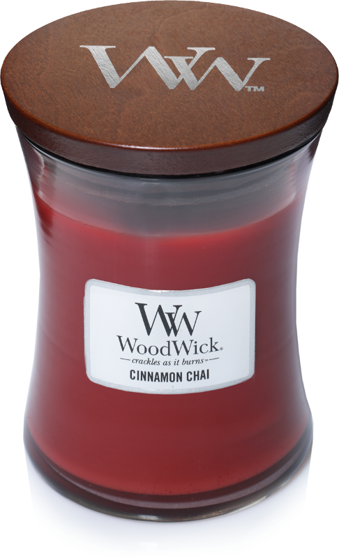 WoodWick Cinnamon Chai Medium Candle-0