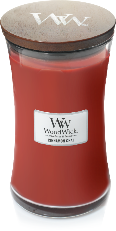 WoodWick Cinnamon Chai Large Candle-0